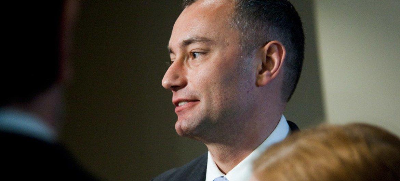 Special Representative for Iraq Nickolay Mladenov.