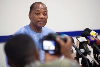 Le Représentant spécial du Secrétaire général et Chef du Bureau des Nations Unies pour l'Afrique de l'Ouest (UNOWA), Mohamed Ibn Chambas. Photo MINUAD