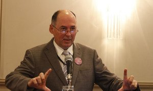 Head of the Regional Office for the Americas of the UN Office for Disaster Risk Reduction (UNISDR) Ricardo Mena.