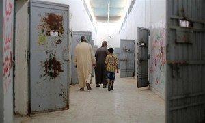 Inside the cells of Libya's notorious jail, Abu Salim.