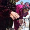 Mujer siria refugiada en Jordania. Foto: IRIN/Heba Aly