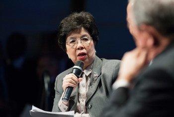 La Directrice générale de l'OMS, Dr Margaret Chan. Photo Banque mondiale/Steven Shapiro