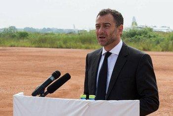 Le Représentant spécial adjoint de l'ONU au Soudan du Sud, Toby Lanzer. Photo MINUSS/JC McIlwaine