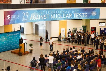 International Day against Nuclear Tests 2014.