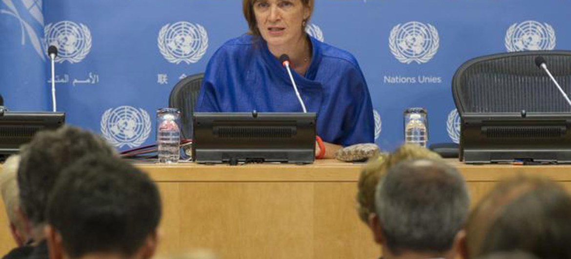 Press Conference by Security Council President Ambassador Samantha Power of the United States on the programme of work of the Council for September.