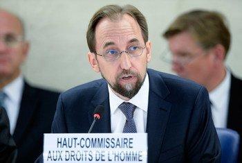 El Alto Comisionado de la ONU para los Derechos Humanos,Zeid Raad Al Hussein  Foto: ONU/Jean Marc Ferre