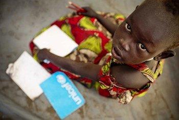 30 millions d'enfants à travers le monde ne peuvent pas retourner à l'école en raison du nombre record de conflits et de crises. Photo : UNICEF