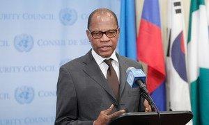 Le Représentant spécial du Secrétaire général de l'ONU pour l'Afrique de l'Ouest, Mohamed Ibn Chambas. Photo : ONU/Loey Felipe