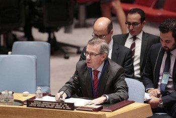 Special Representative and head of the UN Support Mission in Libya (UNSMIL) Bernardino Léon.