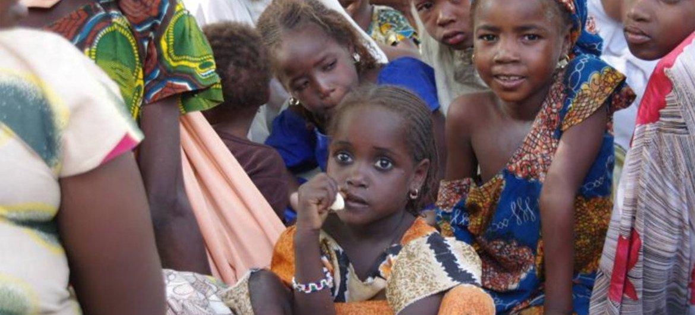 Nigerian refugees in Niger.
