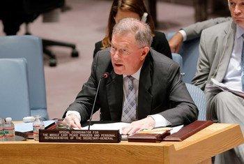 Robert Serry en el Consejo de Seguridad.  Foto de archivo: ONU/Devra Berkowitz