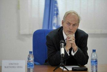 Special Representative for Somalia, Nicholas Kay.