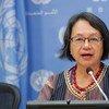 联合国土著人民权利问题特别报告员维多利亚•托利-科尔普斯。