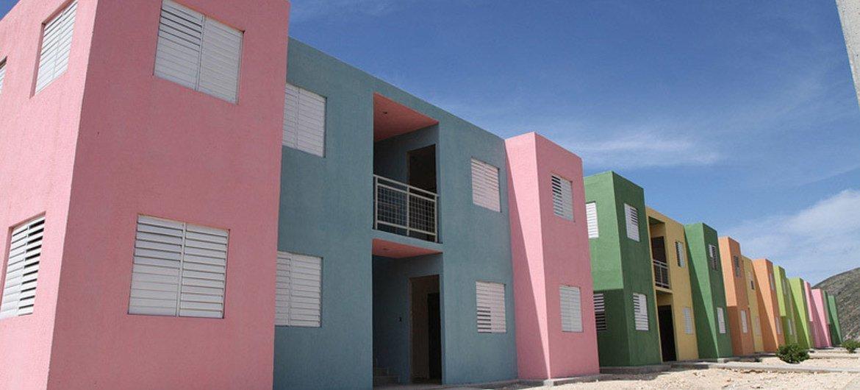 Vita de un barrio de Puerto Príncipe, en Haití. Foto: ONU Hábitat