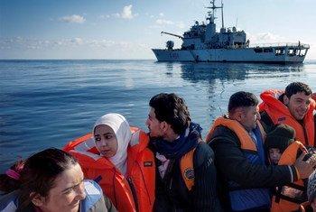 Miles de personas han muerto en lo que va de año tratando de cruzar el Mediterráneo para llegar a Europa. Foto de archivo: ACNUR