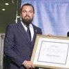 Leonardo DiCaprio, nuevo Mensajero de la Paz de la ONU  Foto: Mark Garten