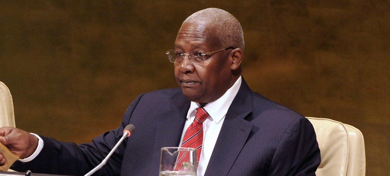 President of the General Assembly Sam Kutesa.