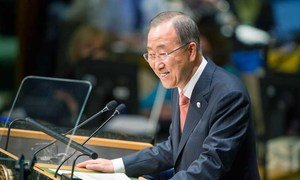As the General Assembly began the general debate of its sixty-ninth session, Secretary-General Ban Ki-moon presented to the Assembly his annual report on the work of the Organization.