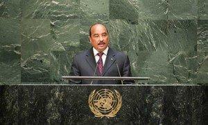 Le Président de la Mauritanie, Mohamed Ould Abdel Aziz. Photo ONU/Cia Pak