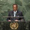 Le Président du Tchad, Idriss Déby Itno. Photo ONU/Cia Pak