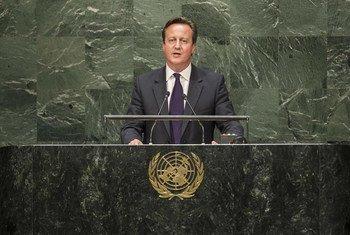 Le Premier ministre britannique, David Cameron. Photo ONU/Hubi Hoffmann