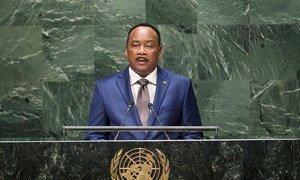 Le Président du Niger, Issoufou Mahamadou. Photo ONU/Cia Pak