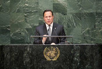 Juan Carlos Varela, presidente de Panamá. Foto de archivo: ONU/Cia Pak
