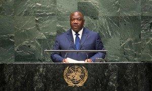 Le Président du Gabon, Ali Bongo Ondimba. Photo ONU/Cia Pak
