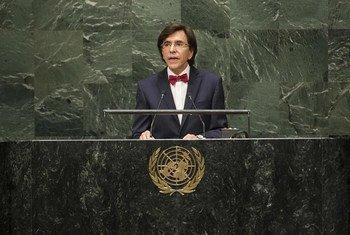 Le Premier minsitre de Belgique, Elio Di Rupo.