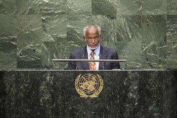 Le Ministre des affaires étrangères du Soudan, Ali Ahmed Karti.