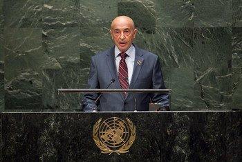 Le Président de la Chambre des représentants de Libye, Agila Saleh Essa. Photo ONU