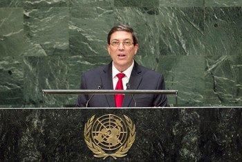 Bruno Rodríguez Parrilla. Foto de archivo: ONU/Kim Haughton