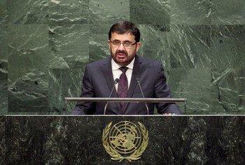 Le Ministre des affaires étrangères d'Afghanistan, Zarar Ahmad Osmani. Photo ONU/Loey Felipe