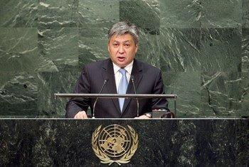 Эрлан Абдылдаев.  Фото  ООН