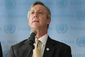 On the eve of his departure for Ghana to begin work at the helm of the UN's new Mission for Ebola Emergency Response (UNMEER), mission chief Anthony Banbury speaks with the UN press corps in New York.