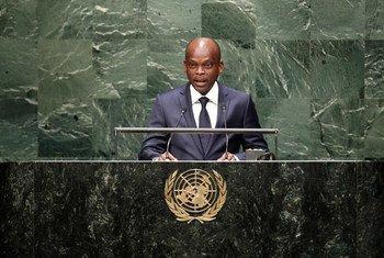 Le Ministre des affaires étrangères du Togo, Robert Dussey. Photo ONU/Loey Felipe