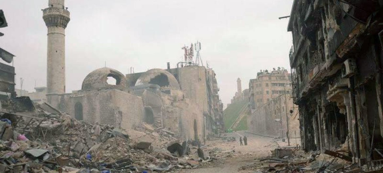 Алеппо фото/ЮНЕСКО