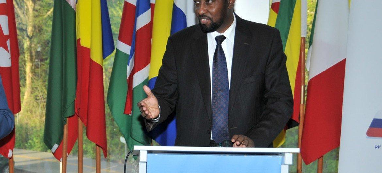 Mkurugenzi Mkuu wa UPU Bishar A. Hussein