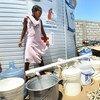 Más de 660 millones de personas en todo el mundo viven sin acceso a agua potable. Foto: MINUSTAH