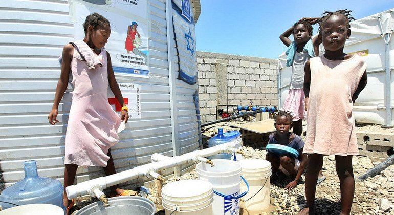 Sanitation chain, wastewater treatment focus of World Toilet Day event at UN
