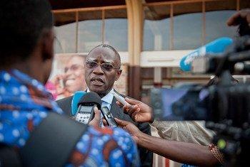 Le chef de la Mission des Nations Unies en République centrafricaine (MINUSCA), le général Babacar Gaye.