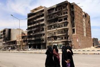 Des civils à Misrata, en Libye. Photo HCR/Helen Caux