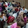 Familias desplazadas de Kobane. Foto: ACNUR/D. Nahr