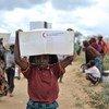 Desplazados somalíes. Foto de archivo: ONU/Tobin Jones