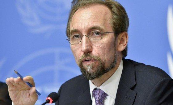 Alto comissário da ONU para Direitos Humanos, Zeid Al Hussein.