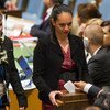 Votaciones en la Asamblea General. Foto: ONU-Mark Garten