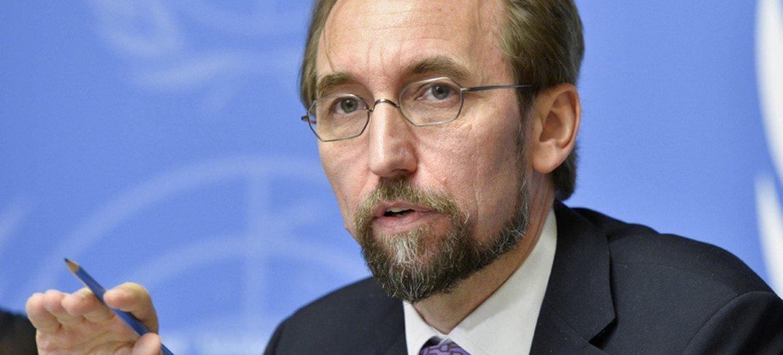人权高级专员扎伊德。联合国图片/Jean-Marc Ferré