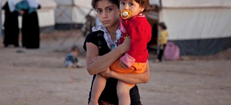 Wakimbizi kutoka Syria wanaishia kambi ya Domiz nchini Iraq
