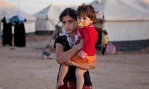 Des centaines de milliers de Syriens ont fui vers les pays voisins, dont l'Iraq (ici le camp de Domiz, dans la région du Kurdistan, en Iraq). Photo IRIN/Jodi Hilton