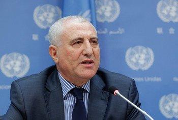 L'Envoyé spécial du Secrétaire général pour la région des Grands Lacs, Saïd Djinnit. Photo ONU/JC McIlwaine